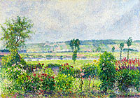 The Valley of the Siene near Damps, the Garden of Octave Mirbeau