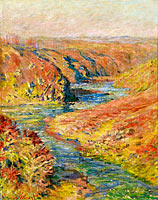 Claude Monet: The Valley of the Creuse at Fresselines