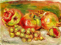Pierre-Auguste Renoir: Granates and Grapes