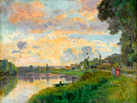 The Banks of the Seine in the Outskirts of Rouen