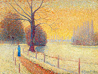Albert Dubois-Pillet: The Eminence in Winter