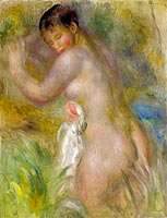 Pierre-Auguste Renoir: Bather (4)