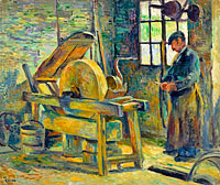 Maximilien Luce: The Grinder