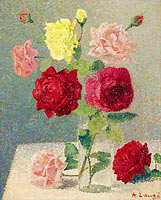 Achille Lauge: Bouquet of Roses (2)