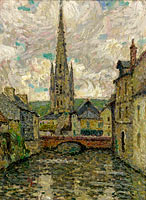 Henri Le Sidaner: The Church, Honfleur