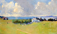 Frank Weston Benson: Wooster Farm (The Farm at North Haven)