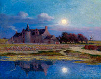 Ferdinand du Puigaudeau: Kervaudu under the Clear Moon