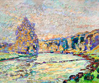 Jean-Baptiste-Armand Guillaumin: The River of Creuse at Genetin