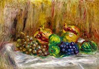 Still Life with Granates, Figs and Grapes