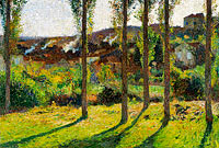 Henri Martin: The House of Monsieur Pele Dominant, Labastide-du-Vert