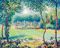 Theodore Earl Butler: Trees at Giverny