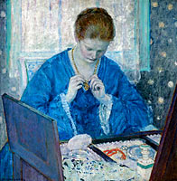 Frederick Carl Frieseke: The Gold Locket