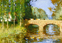 Pierre-Eugene Montezin: Bridge upon the River