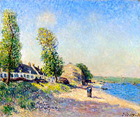 Alfred Sisley: Saint-Mammes at Morning
