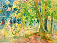 Berthe Morisot: The Forest of Mesnil