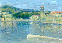 View of the Port of Collioure from the Point of Saint-Vincent (diptych, part 2)