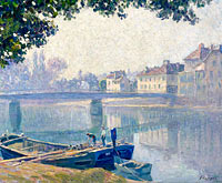 Henri Lebasque: Banks of the Marne