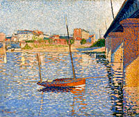 Paul Signac: The Clipper
