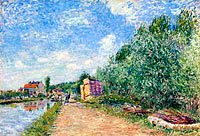 Alfred Sisley: The Loing Channel, Tow-Path