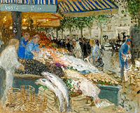 Pierre-Eugene Montezin: The Fishing Market
