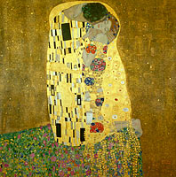 Gustav Klimt: The Kiss