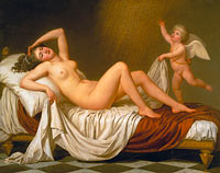 Adolf Ulrik Wertmüller: Danaë and the Shower of Gold