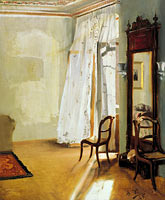 Adolph Menzel: The Balcony Room
