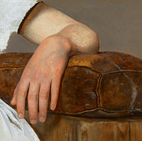 Adolph Tidemand: A Womans's Arm