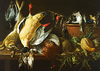 Adriaen van Utrecht: Still Life with Games and Vegetables