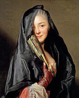 The Lady with the Veil (the Artist's Wife)
