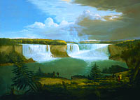 Alvan Fisher: A General View of the Falls of Niagara