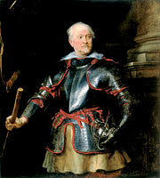 Anthony van Dyck: Portrait of a A Man in Armor