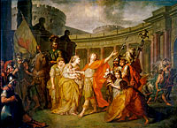 Anton Losenko: Farewell of Hector and Andromache