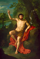 Антон Рафаэль Менгс: St. John the Baptist Preaching in the Wilderness