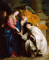 Anthony van Dyck: The Vision of the Blessed Hermann Joseph