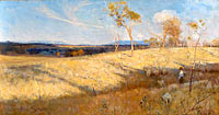 Arthur Streeton: Golden summer, Eaglemont