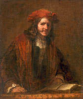 Rembrandt School: The Man with the Red Cap