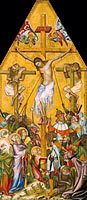 Богемский мастер: The Crucifixion of Christ (Kaufmann Crucifixion)