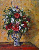 Camille Pissarro: Still life with peonies and mock orange