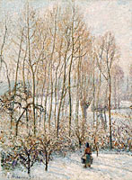 Morning Sunlight on the Snow, Eragny-sur-Epte