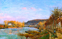 Camille Pissarro: The Seine at Bougival