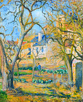 Camille Pissarro: Vegetable Garden