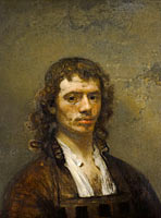Carel Fabritius: Self-portrait