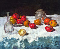 Карл Шух: Still Life with Apples