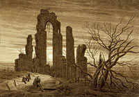 Winter – Night – Old Age and Death (from the times of day and ages of man cycle of 1803)