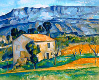 Paul Cézanne: House in Provence (2)