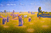 Charles Angrand: The Harvesters