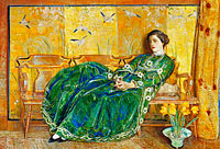 April: (The Green Gown)