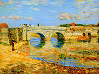 Frederick Childe Hassam: Bridge Over the Stour
