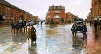 Frederick Childe Hassam: Rainy Day, Boston